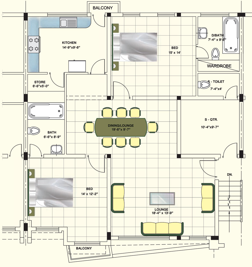 28 Home Floor Plans With Virtual Bronte Floorplans